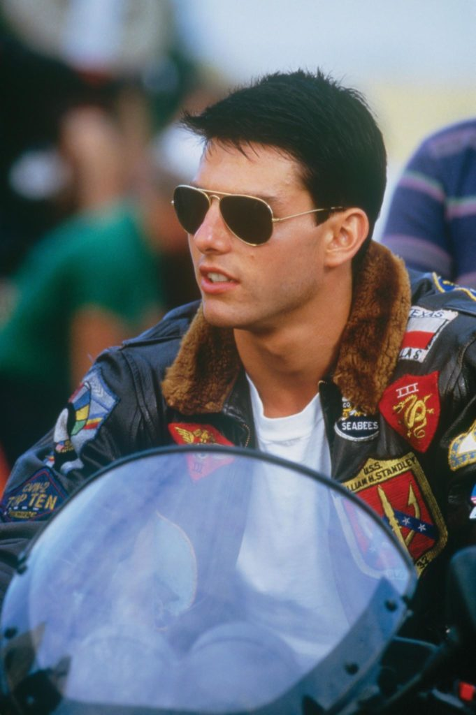 ©Tom Cruise en Top Gun