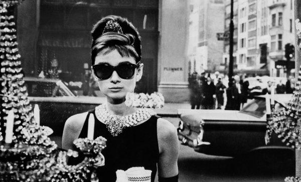 ©Audrey Hepburn en Desayuno con diamantes