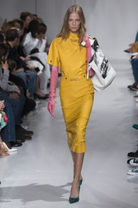 Calvin Klein pasarela